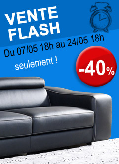 canapé cuir vente flash