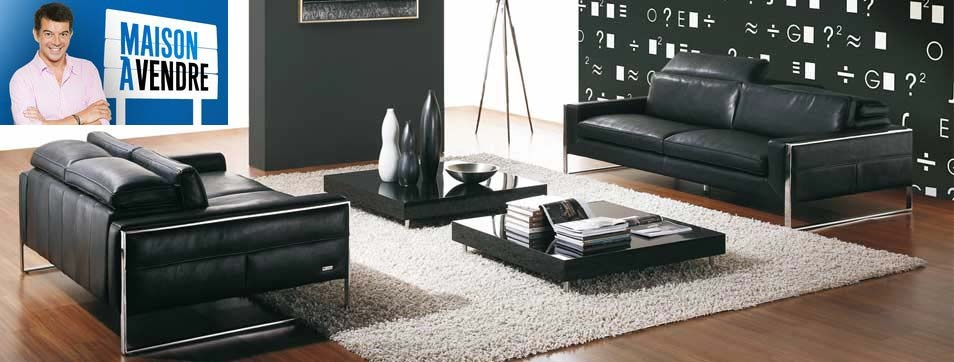 canap cuir et canap d 39 angle des canap s haut de gamme sur canap show. Black Bedroom Furniture Sets. Home Design Ideas
