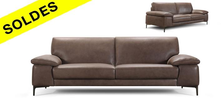 Canapé cuir Matcha