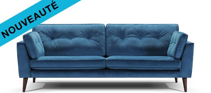Canapé tissu Malo