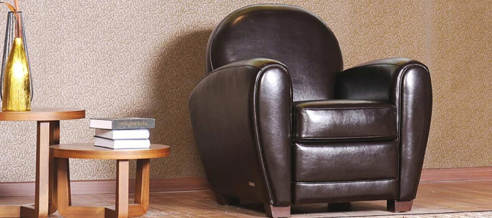 Fauteuil cuir Chester