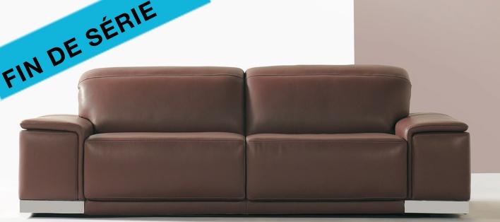 Canapé cuir Hobart