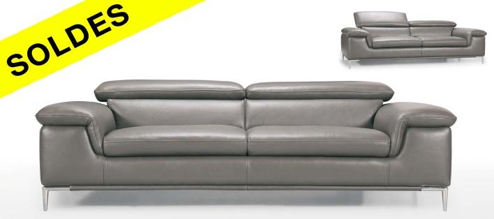 Canapé cuir Madison