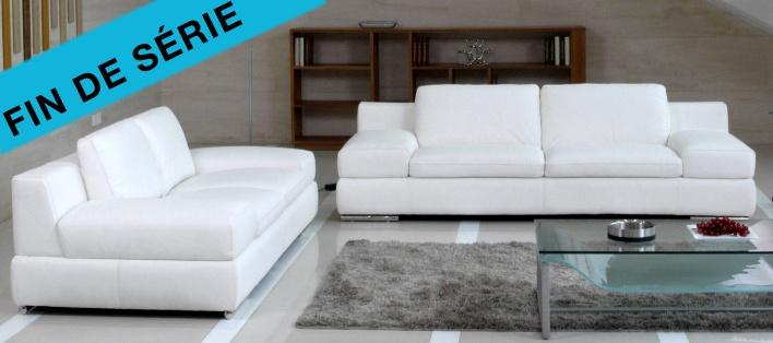 Canapé cuir Malaga
