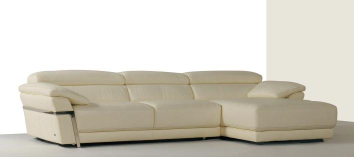 Canapé cuir d'angle Parma