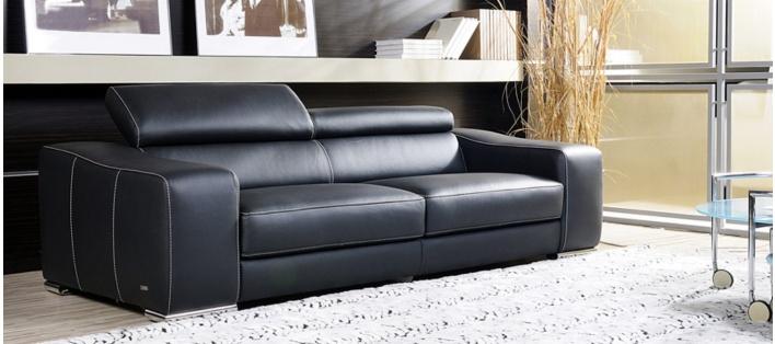 Canapé cuir Preston