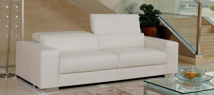 Canapé cuir Sofia