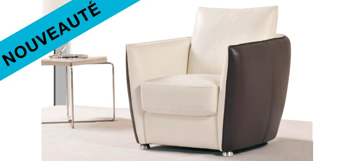 Fauteuil cuir Touch