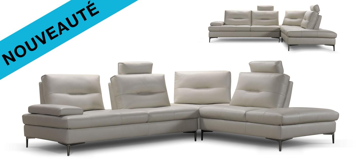 canap cuir d 39 angle birman. Black Bedroom Furniture Sets. Home Design Ideas
