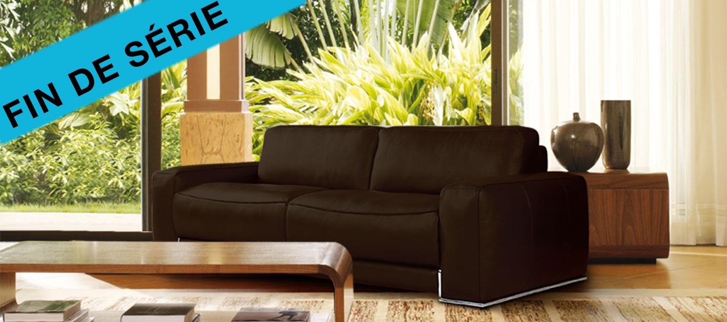 canap cuir chicago. Black Bedroom Furniture Sets. Home Design Ideas