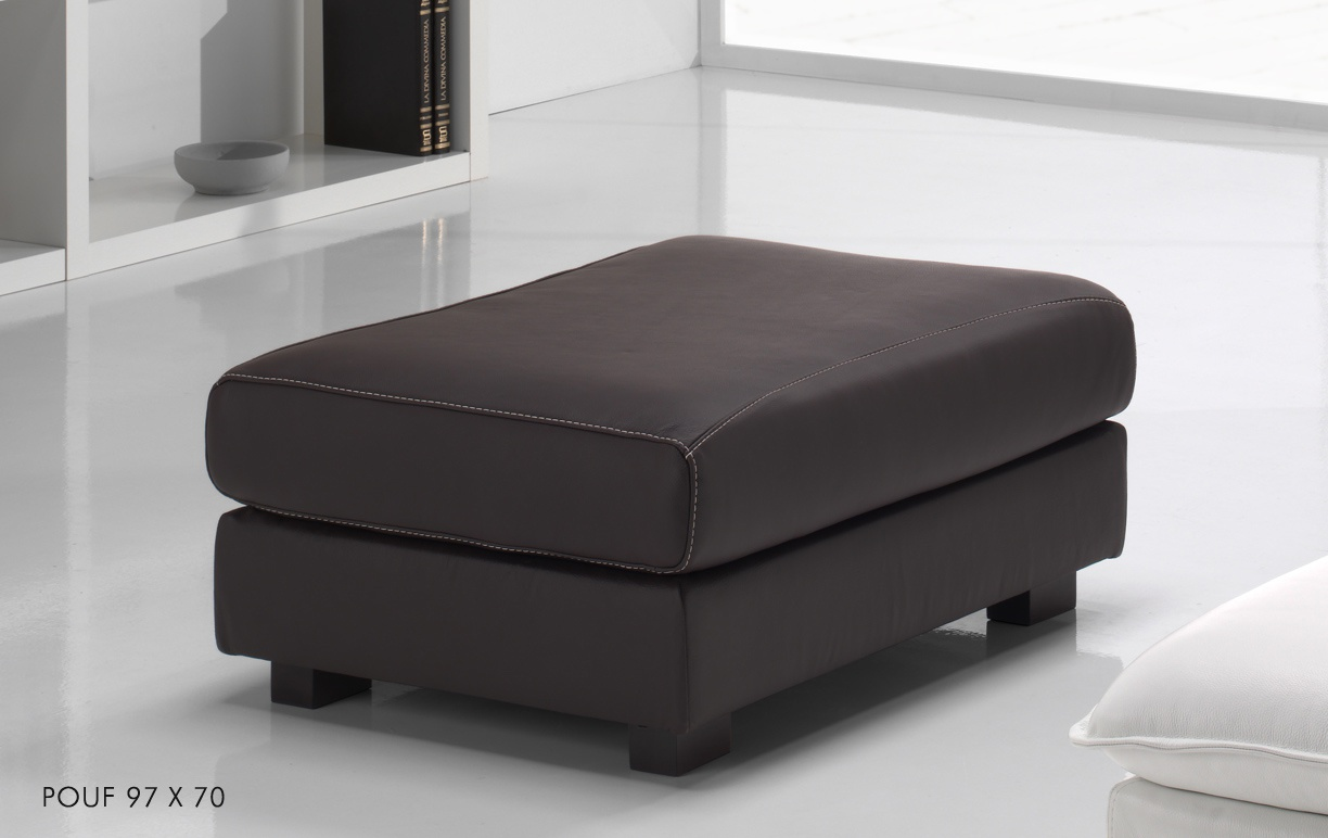 canap cuir d 39 angle relax gino. Black Bedroom Furniture Sets. Home Design Ideas