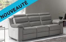 Canapé cuir relax Angusta