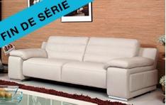 Canapé cuir Calcuta