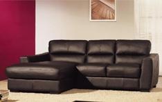 Canapé cuir d'angle Allianz