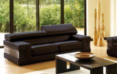 Canapé cuir Canberra