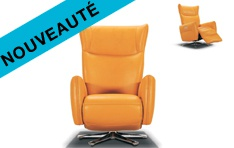Fauteuil cuir Fonky