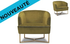 Fauteuil tissu Vibe