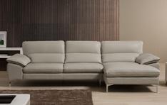 Canapé cuir d'angle Flavio