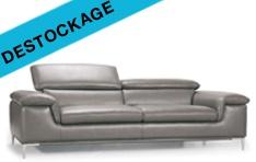 Canapé cuir Destockage Madison