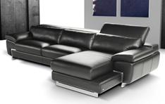 Canapé cuir d'angle Vesuvio