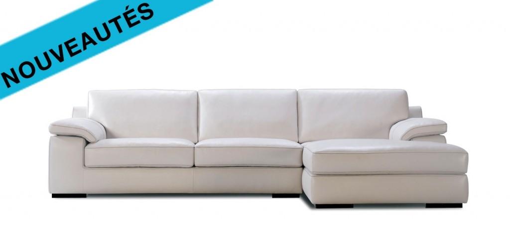 le canap cuir flava est propos en canap d angle en. Black Bedroom Furniture Sets. Home Design Ideas