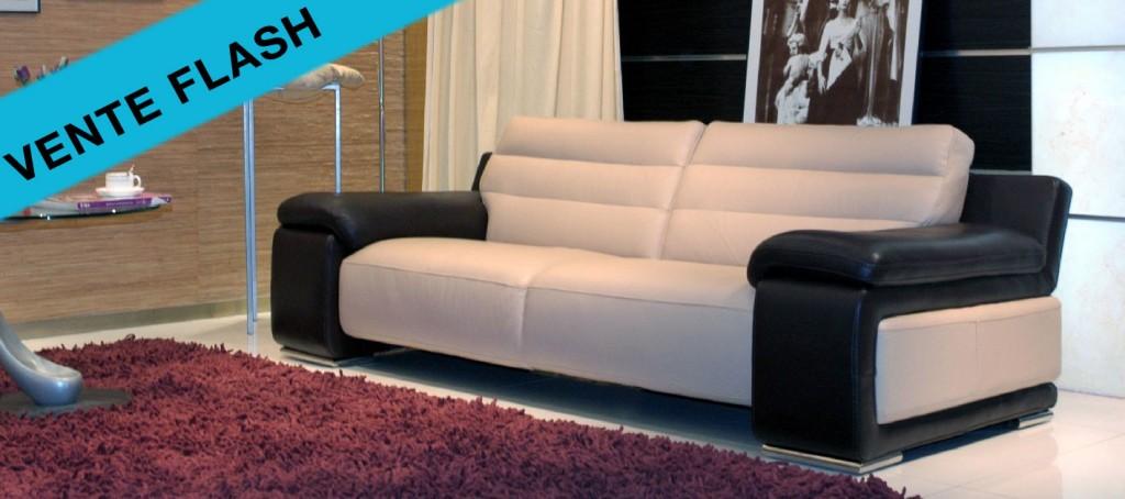 2 nouveaux canap s cuir en vente flash le canap cuir. Black Bedroom Furniture Sets. Home Design Ideas