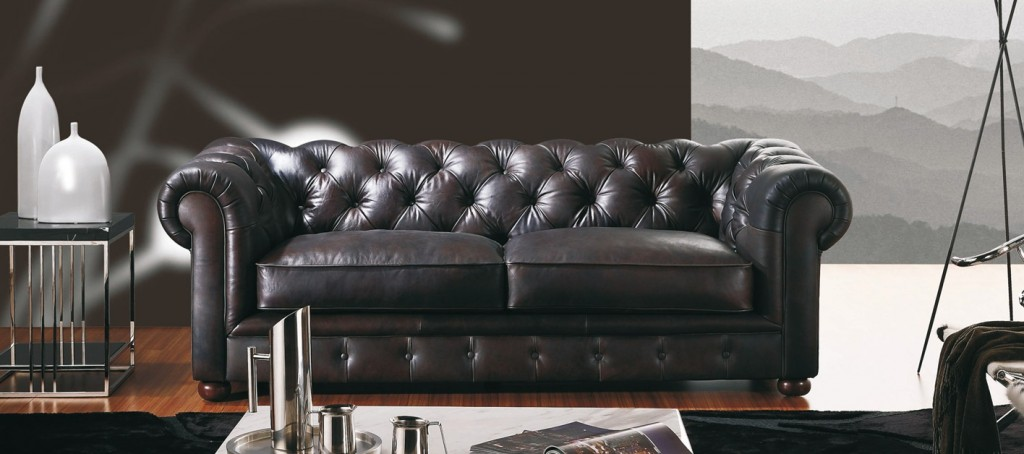 superbe canap cuir chesterfield en prix de lancement sur. Black Bedroom Furniture Sets. Home Design Ideas