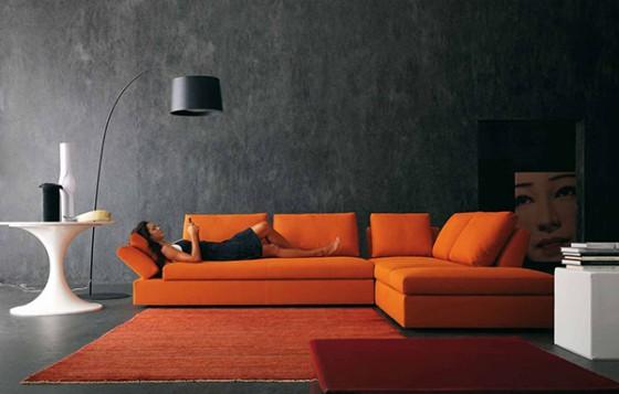 Comment acheter un canap cuir orange pas cher canap show for Canape orange
