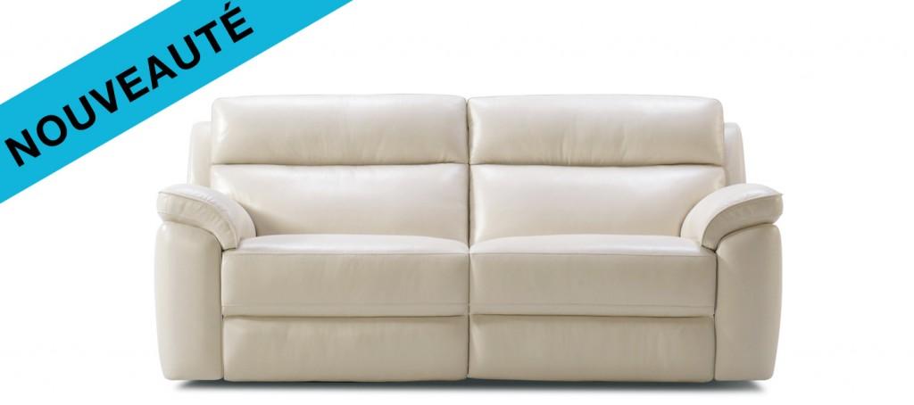 un nouveau canap cuir avec des relax prix incroyable canap show. Black Bedroom Furniture Sets. Home Design Ideas