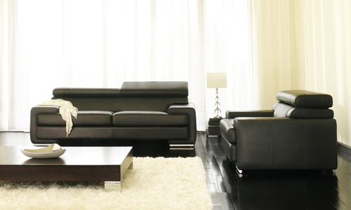 choisir un canap cuir canap show. Black Bedroom Furniture Sets. Home Design Ideas
