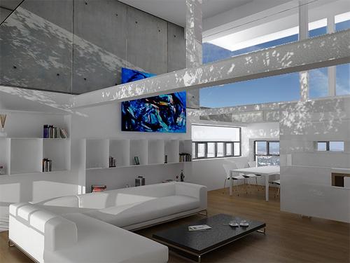 quel canapé cuir avec intérieur blanc