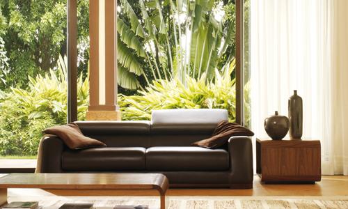 Quel canapé cuir avec un intérieur colonial ? / Canapé Show