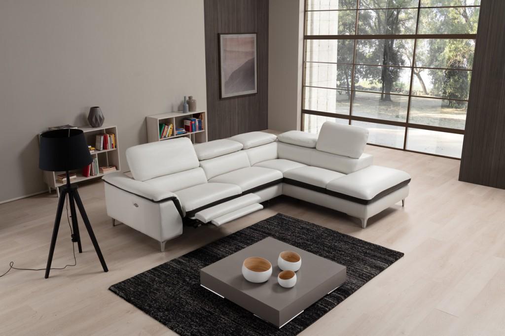 canapé d'angle relax électrique roma